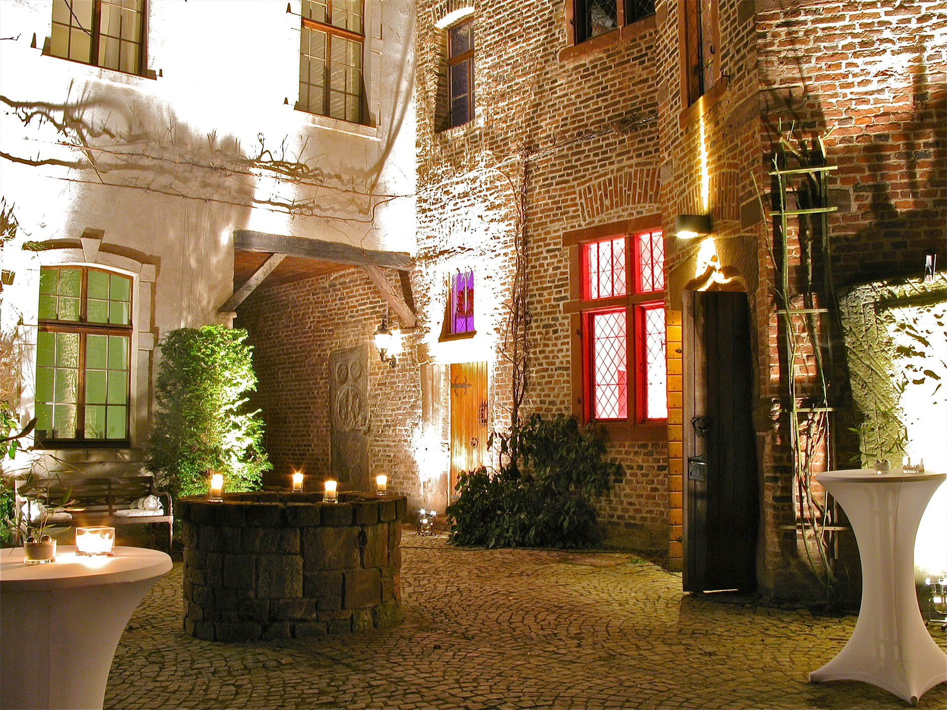 Burg Innenhof